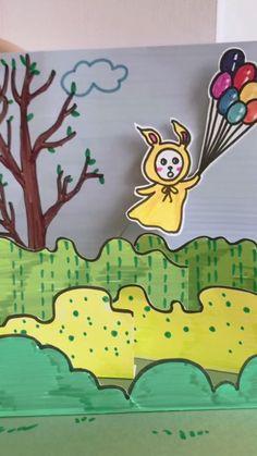 Paper Crafts Origami, Paper Crafts For Kids, Easy Crafts For Kids, Craft Activities For Kids, Fun Crafts, Art For Kids, Insect Crafts, Art Drawings For Kids, Art N Craft