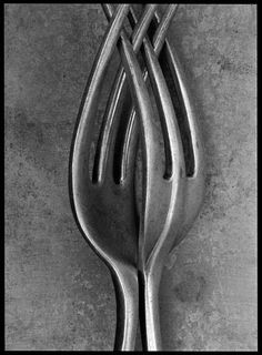 Untitled (Cutlery Series) Original Art by Bob Carlos Clarke :: PicassoMio Erotic Photography, Still Life Photography, Photography Ideas, Minimal Photography, Social Art, Black And White Pictures, Black White, Light And Shadow, Cutlery