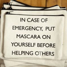 Fancy - Emergency Mascara Pouch
