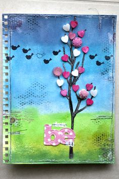 Art Journaling – Strathmore – Always Be You « karenika