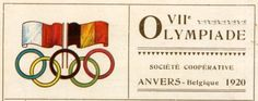 During April of 1920 the Summer Olympics were held in Antwerp, Belgium. The theme of these games was remembering the victims of the First World War and reconciliation between nations after the end of the war. These were the first games in which the Olympic flag and symbol of five interlocking rings appeared and they were used to represent unity and universality after the war. These were also the first games in which doves were released in the opening ceremony to symbolize world peace.