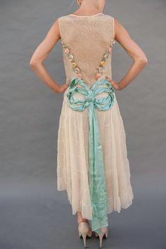 1920s Ribbonwork Evening dress