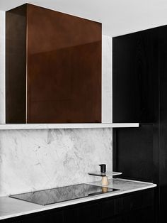 Kitchen, copper hood | Hampton Penthouse. Interior design by Huntly, photo by…
