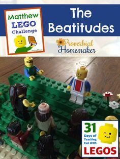 Build through the Bible with the Matthew Lego Challenge - Day 7: The Beatitudes