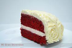 """Hace tiempo que tenía ganas de hacer esta tarta, pero la guardaba para una ocasión especial... el cumpleaños de mi """"mami"""", que le encant..."""