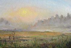 Тургеневский пейзаж. Масло.