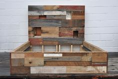 headboard with cubbies Union Wood & Supply Company