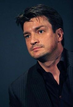 He truly is rigidly handsome! Castle Tv Series, Castle Tv Shows, Castle Abc, Nathan Fillon, Hemsworth Brothers, Richard Castle, Jason Bateman, Castle Beckett, Firefly Serenity