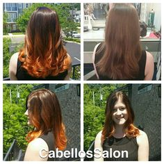 Beautiful red ombré by @val4b82! Can summer officially get here already? We are loving this sunshine! #CabellosSalon #cabellostally #tally #redken @behindthechair_com @redken5thave @modernsalon #hair #ombre #red #gorgeous #spa #hairsalon #before #after #styleyourstory Follow