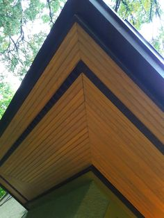 Natural Beauty Tongue And Groove Cedar Soffits My