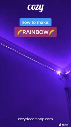 Get your TikTok LED Strip Lights today at cozydeco Led Room Lighting, Room Lights, Strip Lighting, Room Ideas Bedroom, Girl Bedroom Designs, Led Light Strips, Led Strip, Led Diy, Diy Led Light