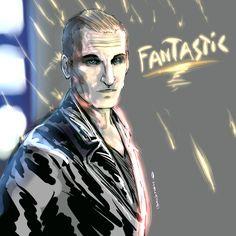 Le Neuvième Docteur (Doctor Who).