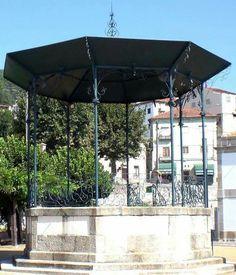 Antigo Coreto da Praça Velha da Guarda hoje em Fornos de Algodres