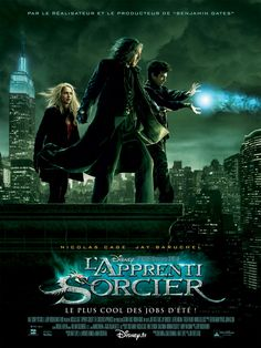 The Sorcerer's Apprentice , starring Nicolas Cage, Jay Baruchel, Alfred Molina, Teresa Palmer. Master sorcerer Balthazar Blake must find and train Merlin's descendant to defeat dark sorceress Morgana le Fey. #Action #Adventure #Comedy #Drama #Fantasy