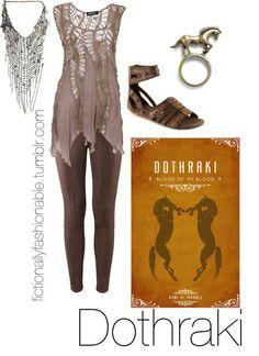 Game of Thrones-inspired 'Dothraki' fashion