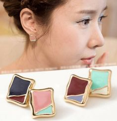 Artistic Painting Earring – StarryCloset