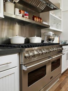 ina garten kitchen design. Custom Ranges Ina s favorite combination  electric ovens for baking and gas burners cooking in two Viking Professional Series Dual Fuel ranges An Inside Look at the Barefoot Contessa Barn contessa