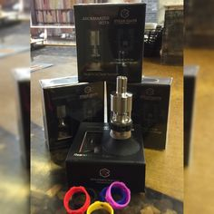 NEW NEW NEW!  The Aromamizer RDTA by Steam Crave is an innovative, rebuildable dripping tank atomizer that features a side tension applied two post design, a unique bottom liquid feeding deck!  Available in Stainless and Black with multiple color options for adjustable silicone airflow ring (accessories sold separately). The RDTA is at a price that is just right, only $40.00!  A complete integration of innovative, unique, and incredibly useful features, the Aromamizer RDTA by Steam Crave…