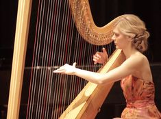 Carly Nelson, Harpist