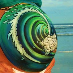 Heather Aguilera is a body painter specializing in prenatal art, belly painting, baby bump painting and body art. Face Painting Tutorials, Face Painting Designs, Pregnancy Tattoo, Pregnancy Belly, Pregnancy Photos, Bump Painting, Pregnant Belly Painting, Belly Art, Art Optical