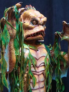 Swamp Thing animatronic by Sally Corporation