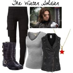 """The Winter Soldier"" by Bethany Brooks on Polyvore"