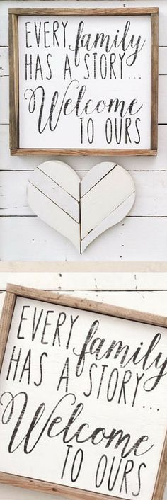All wood signs are designed by the dotted bow and made from scratch I source wood, cut, build and paint each sign in house which means you will receive a truly one of a kind item.  #etsy #etsyseller #wallhanging #homedecor #walldecor #afflink #rustic #rusticdecor #rusticstyle #farmhouse #farmhousestyle #farmhousedecor #distressedwood #familysigns #diysigns #shiplap #johannagains #gifts #mothersdaygifts #mothersday #giftsforher #home #family #woodsigns #familysigns #walldecor…