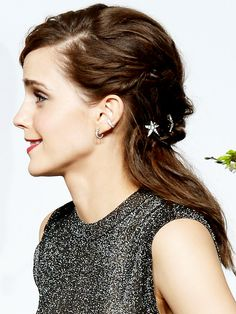 Red Carpet Hair from All Angles - EMMA WATSON - Beauty, Academy Awards, Oscars 2014, Red Carpet, Emma Watson : People.com