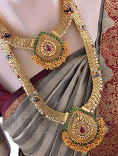 Bridal Jewellery Set for Bride with Multicolor Stones