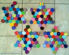 Life Under Quilts: Monday Morning Star Count 7 Monday Again, It's Monday, Morning Star, Monday Morning, English Paper Piecing, Counting, Crochet Necklace, Quilts, Stars