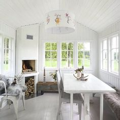 Lysthus Floor Stain, She Sheds, Cottage, Scandinavian Style, Outdoor Living, Dining Table, Indoor, Flooring, Pergola