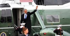 #World #News  The emotional moment Obama's waves goodbye to D.C.  #StopRussianAggression
