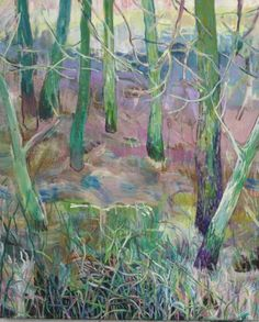 New Blood Art | A Very Romantic Clearing by Sophie Baker | Buy Original Art Online | Artworks by Emerging Artists for Sale