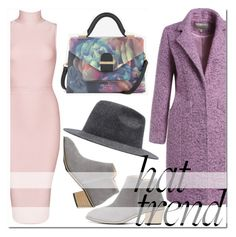 """Untitled #1658"" by mirisproleca ❤ liked on Polyvore featuring Posh Girl, Ted Baker and hathead"