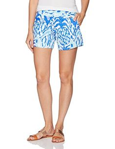 Lilly Pulitzer Womens Callan Short Serene Blue Tropics Call me 2 *** Be sure to check out this awesome product. (This is an affiliate link) Short Hair Cuts, Short Hair Styles, Spring Shorts, Short Hairstyles For Women, Short Outfits, Casual Shorts, Women's Shorts, Lilly Pulitzer, Gym Shorts Womens