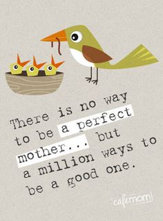 Don't try to be perfect! #motherhood #quotes #parenting