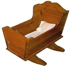 Cradle Plans To Build   25-P4W1205 - Baby Cradle Downloadable PDF Woodworking Plan
