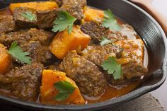 A recipe for Slow Cooked Beef with Sweet Potato and Peanut Sauce, a recipe from Lose Baby Weight which is a safe and healthy way to lose weight after having a Healthy Mummy Recipes, Whole Food Recipes, Slow Cooker Recipes, Beef Recipes, Cooking Recipes, Moroccan Beef Stew, Patatas Guisadas, Sweet Potato Chili, Potato Curry
