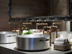 "Amazing Restaurant Decor-Bathroom sink idea for my ""beachside snack shack"""