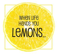 When Life Hands You Lemons: RS Activity (or maybe YW) with pdf's of handouts and program
