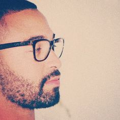 Because when he wears glasses, you find it extremely difficult to carry on with daily activities. Matt Kemp, Single Pic, Fine Black Men, Attractive Guys, Soul Searching, The Brethren, Daily Activities, This Man, Guys And Girls