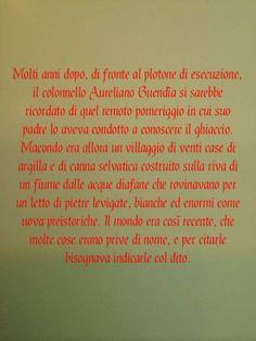 #Cent'anni di #solitudine Gabriel Garcia #Marquez