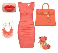 """""""Untitled #9"""" by ado-duda ❤ liked on Polyvore featuring Nicole Miller, JY Shoes and Hermès"""