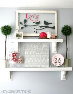 Home Decor Ideas : Valentines Decorating Ideas {an inspiration}