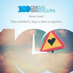 Para viver melhor! #100diasSemdesculpas