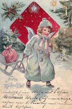Christmas Card Art - Postcard - Posters  #Christmas #card #postcard