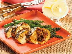 Jamaican Grilled Chicken with Asparagus http://www.prevention.com/food/healthy-recipes/30-minute-not-boring-chicken-recipes/slide/7