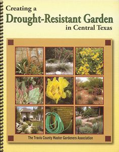 Central Texas Drought Resistant Gardening book.  Includes ideas for other zones.  Zero-scape.