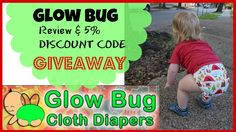 GlowBug Cloth Diapers Review, GIVEAWAY & 5% DISCOUNT CODE {OPEN} #review #clothdiapers #glowbugclothdiapers #giveaway