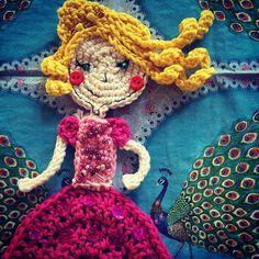 #crochetprincessapplique according to pattern of #vendulkam